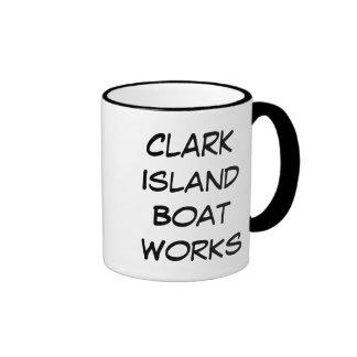 Clark Island Boat Works Ringer Mug