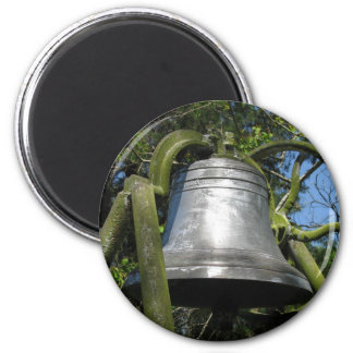 Clark Place Bell 1893 6 Cm Round Magnet