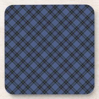 Clark Scottish Clan Tartan Coasters