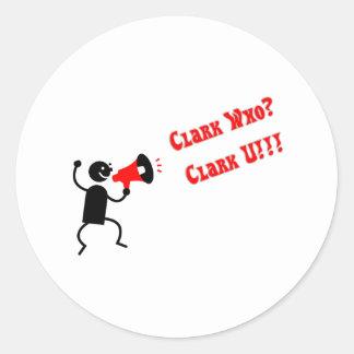 clark who.pdf round sticker