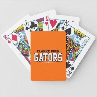 Clarke Prep High School; Gators Bicycle Poker Deck
