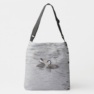 Clarks Grebe Birds Lake Wildlife Tote Bag