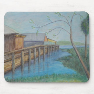 CLARK'S OLD FLORIDA FISH CAMP Mousepad