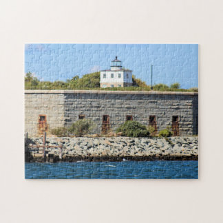 Clark's Point Lighthouse, Mass Jigsaw Puzzle
