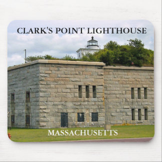 Clark's Point Lighthouse, Massachusetts Mousepad