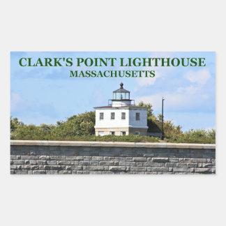 Clark's Point Lighthouse, Massachusetts Stickers