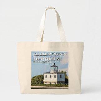 Clark's Point Lighthouse, Massachusetts Tote Bag