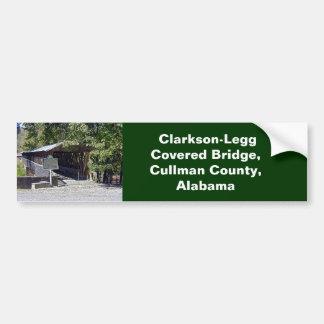 Clarkson–Legg Covered Bridge Bumper Sticker