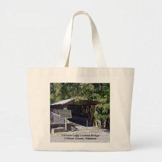 Clarkson–Legg Covered Bridge Jumbo Tote Bag