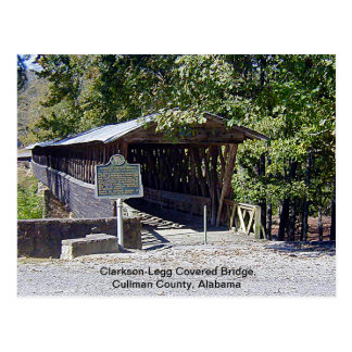 Clarkson–Legg Covered Bridge Postcard