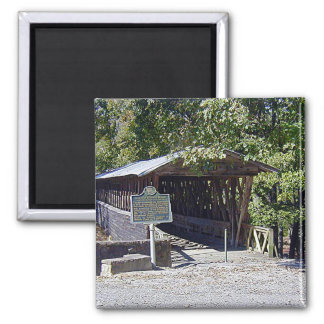 Clarkson–Legg Covered Bridge Square Magnet