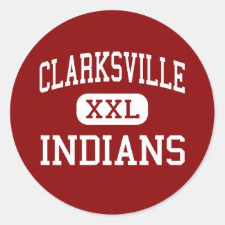 Clarksville - Indians - High - Clarksville Iowa Stickers