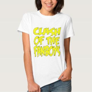 Clash Of The Fanboys LOGO Tee Shirt
