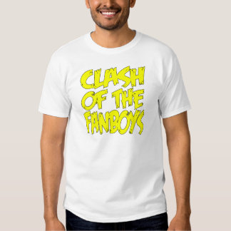 Clash Of The Fanboys LOGO Tees