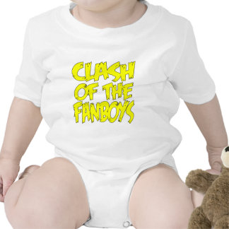 Clash Of The Fanboys LOGO Rompers