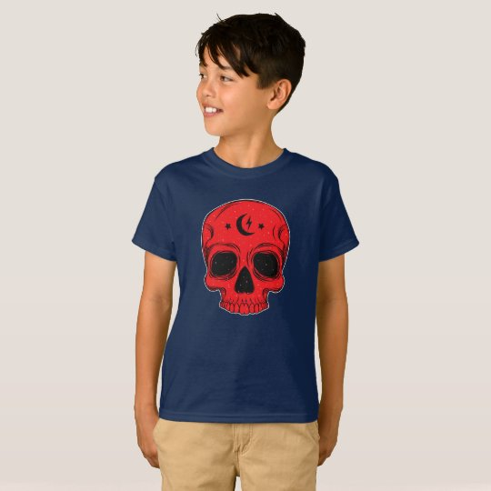 Clasic Skull (red) T-Shirt