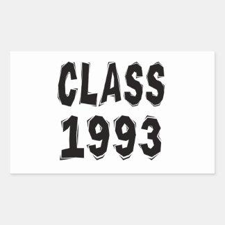 Class 1993 stickers