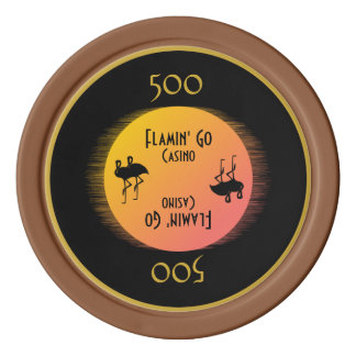 Class Act Flamingo Poker Chip Sets