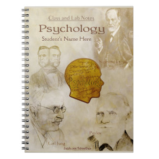 Class and Lab Notes - Psychology (Personalized) Spiral Notebook