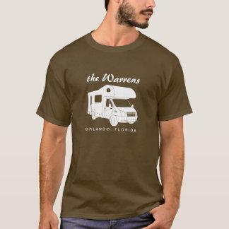 Class C Motorhome Silhouette Graphic T-Shirt