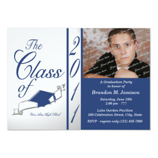 Class Graduation 2011/ Blue Card