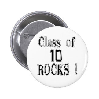 Class of '10 Rocks! Button