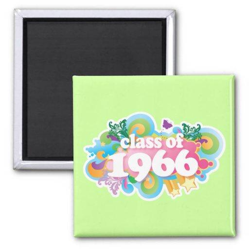 Class of 1966 fridge magnets