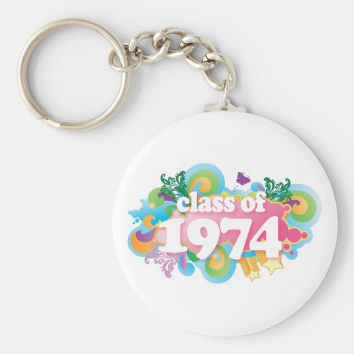 Class of 1974 keychains