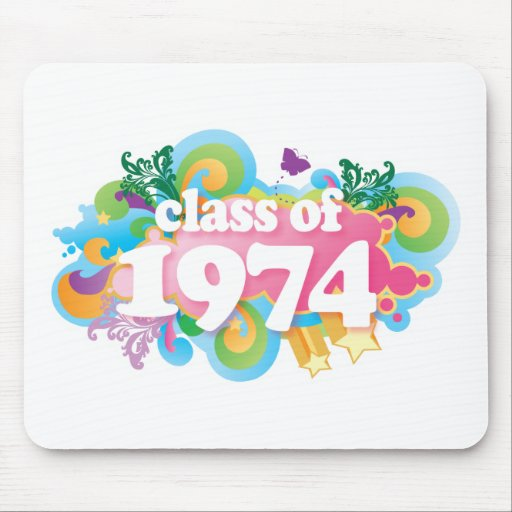 Class of 1974 mouse pad
