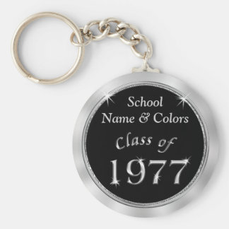 Class of 1977 Class Reunion Souvenirs YOUR TEXT Key Ring