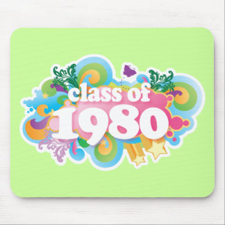 Class of 1980 mouse pads