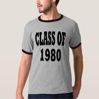 Class of 1980 tshirts