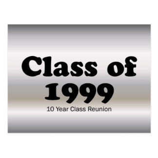 Class of 1999 10 Year Reunion Post Card