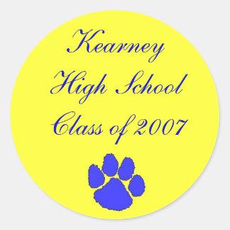 Class of 2007, Kearney High School sticker