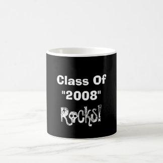 "Class Of, ""2008"", Rocks! Classic White Coffee Mug"