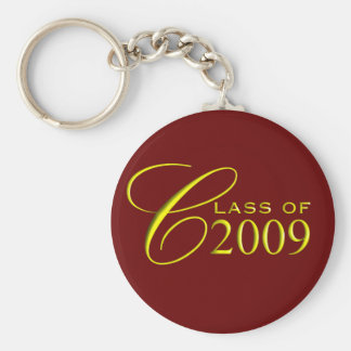 Class of 2009 Garnet and Gold Graduation Key Ring