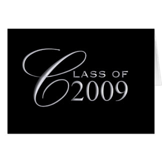 Class of 2009 Graduation - Blank Inside Card