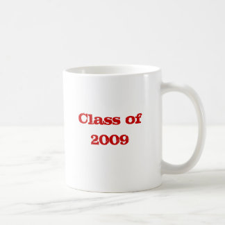 Class of 2009 classic white coffee mug
