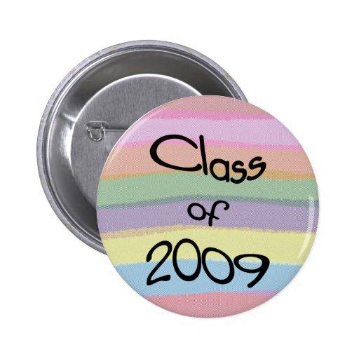 Class of 2009 Pastel Twist Round Button II