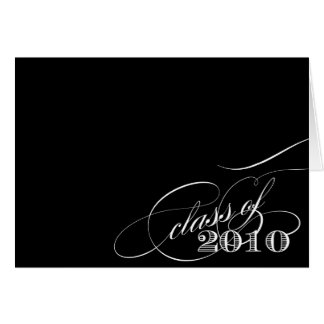 Class of 2010 Notecard