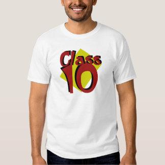 Class of 2010 tee shirts