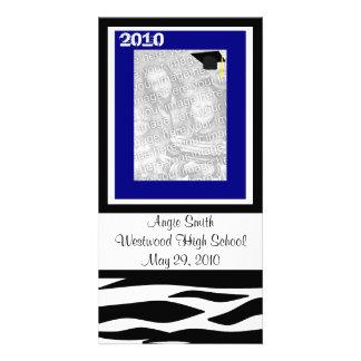 Class of 2010 Zebra Photo Card