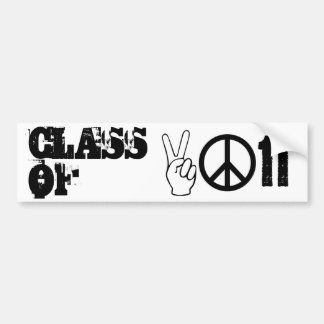 CLASS OF 2011 BUMPER STICKER
