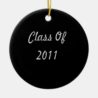 Class Of 2011 Christmas Tree Ornament