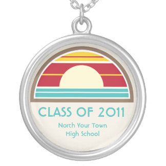 Class Of 2011 Graduation 70s Inspired Beach Sunset Custom Jewelry