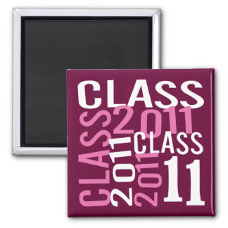 Class of 2011 magnets