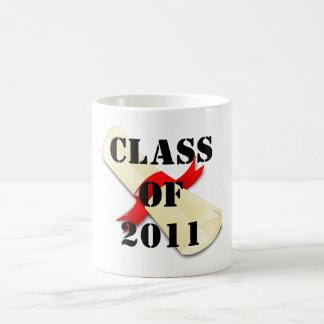 Class of 2011 coffee mugs