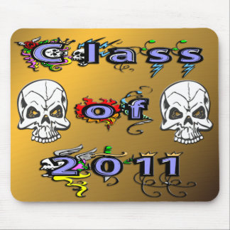 Class of 2011 - Skulls Mouse Pad