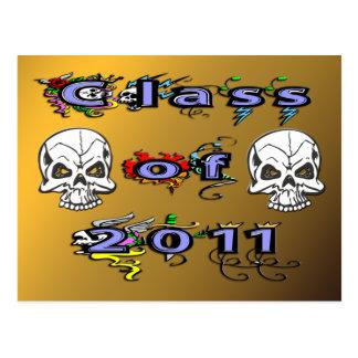 Class of 2011 - Skulls Postcards