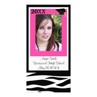 Class of 2011 Zebra Photo Card